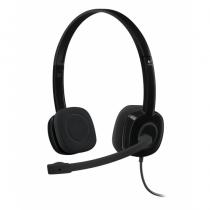 Logitech H151 Kopfhörer Kopfband Schwarz