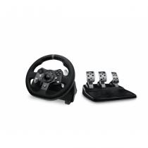 Logitech G920 Lenkrad + Pedale PC, Xbox One Analog / Digital USB 2.0 Schwarz