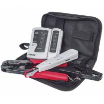 Intellinet 780070 Kabelwerkzeugsatz Schwarz