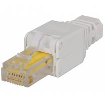 Intellinet 790482 Drahtverbinder RJ45 Weiß