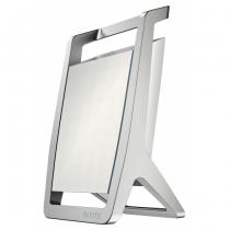 Leitz 52550004 Stiftehalter Silber, Weiß Metall, Kunststoff