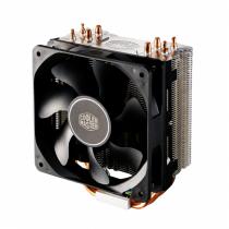 Cooler Master Hyper 212X Prozessor Kühler 12 cm Aluminium, Schwarz, Kupfer