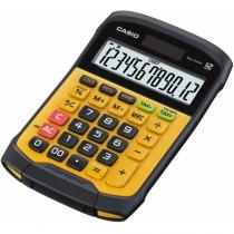 Casio WM-320MT Taschenrechner Tasche Display-Rechner Schwarz, Gelb