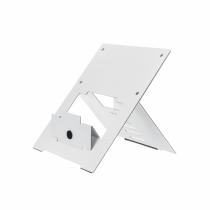 R-Go Tools R-Go Riser Flexibel Laptopständer, verstellbar, weiß