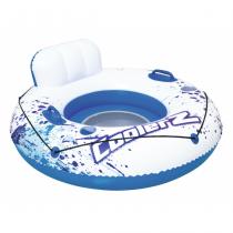 Bestway 43108 Aufblasbares Spielzeug für Pool & Strand Blau, Weiß Schwimmsitz Vinyl