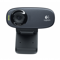 Logitech C310 Webcam 5 MP 1280 x 720 Pixel USB Schwarz