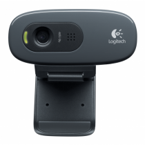 Logitech C270 Webcam 3 MP 1280 x 720 Pixel USB 2.0 Schwarz