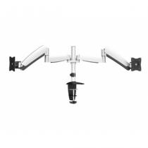 Equip 650113 Flachbildschirm-Tischhalterung 68,6 cm (27 Zoll) Klemme Schwarz, Weiß
