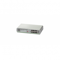 Allied Telesis AT-GS910/8-50 Unmanaged Gigabit Ethernet (10/100/1000) Grau
