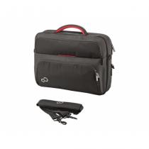 Fujitsu prestige case 15 Notebooktasche 39,6 cm (15.6 Zoll) Aktenkoffer Schwarz, Rot