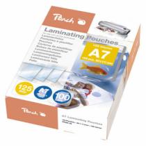 Peach Laminierfolien A7, 125 mic, glänzend, PP525-05, 100 Stk.