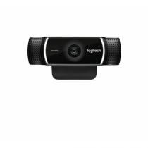 Logitech C922 Webcam 1920 x 1080 Pixel USB Schwarz