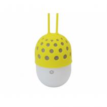 Conceptronic CSPKBTWPHLY Tragbarer Lautsprecher 3 W Weiß, Gelb