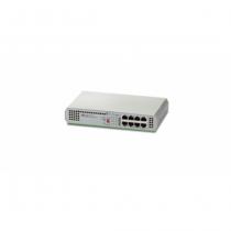 Allied Telesis AT-GS910/8E-50 Unmanaged Gigabit Ethernet (10/100/1000) Grau