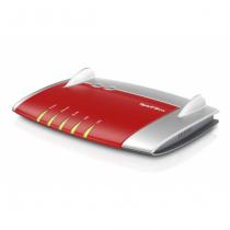 AVM FRITZ!Box 4040 WLAN-Router Dual-Band (2,4 GHz/5 GHz) Gigabit Ethernet Rot, Silber