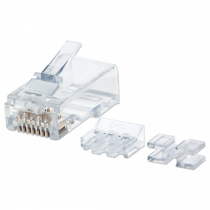 Intellinet 790659 Drahtverbinder RJ45 Transparent