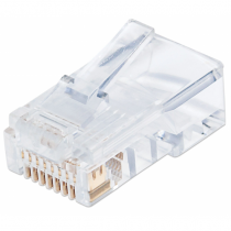 Intellinet 790512 Drahtverbinder RJ45 Transparent