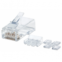 Intellinet 790550 Drahtverbinder RJ45 Transparent