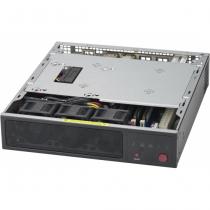 Supermicro CSE-101F Computer-Gehäuse Rack Schwarz