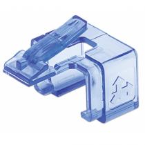 Intellinet 771443 Kabelklammer Blau, Transparent 50 Stück(e)