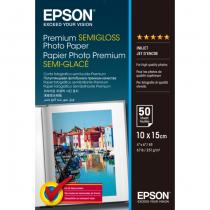 Epson Premium Semi-Gloss Photo Paper - 10x15cm - 50 Blätter