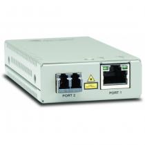 Allied Telesis AT-MMC200/LC Netzwerk Medienkonverter 1310 nm Grau