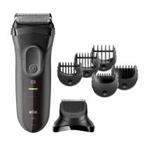 Braun Series 3 3000BT shave n style Barttrimmer Nass & Trocken Grau