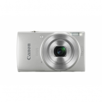 Canon Digital IXUS 190 Kompaktkamera 20 MP CCD 5152 x 3864 Pixel 1/2.3 Zoll Silber