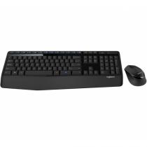 Logitech MK345 Tastatur RF Wireless Tschechisch Schwarz