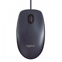 Logitech M100 Maus USB Typ-A Optisch 1000 DPI Beidhändig