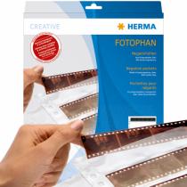 HERMA Negativhüllen, transparent, 4 Filmstreifen klar 100 St.
