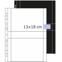 HERMA Fotophan Fotosichthüllen 13x18 cm quer weiß 250 Hüllen