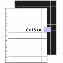 HERMA Fotophan Fotosichthüllen 10x15 cm quer weiß 250 Hüllen