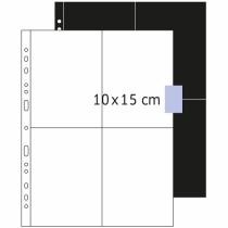HERMA Fotophan Fotosichthüllen 10x15 cm hoch weiß 250 Hüllen