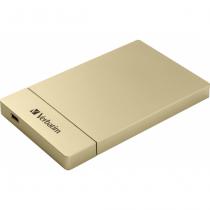 Verbatim Store 'n' Go 2.5 Zoll HDD / SSD-Gehäuse Gold