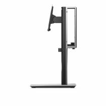 DELL MFS18 Flachbildschirm-Tischhalterung 68,6 cm (27 Zoll) Freistehend Schwarz, Silber