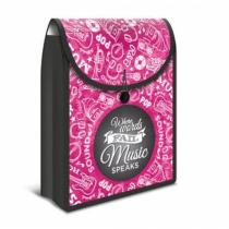 HERMA Flexi Bag Dateiablagebox Polypropylen (PP), Gummi Pink