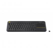 Logitech K400 Plus Tastatur RF Wireless Kroatisch, Slowenisch Schwarz
