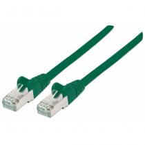 Intellinet 740593 Netzwerkkabel 0,25 m Cat7 S/FTP (S-STP) Grün