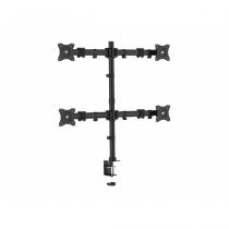Equip 650117 Flachbildschirm-Tischhalterung 68,6 cm (27 Zoll) Klemme Schwarz