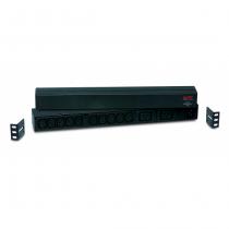 APC RACK PDU BASIC 1 U 16A 230V Stromverteilereinheit (PDU) 12 AC-Ausgänge 0U/1U Schwarz