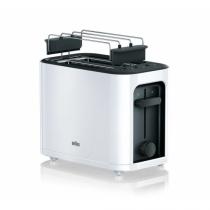 Braun PureEase HT 3010 WH Toaster 2 Scheibe(n) Weiß 1000 W