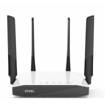 Zyxel NBG6604 WLAN-Router Dual-Band (2,4 GHz/5 GHz) Schnelles Ethernet Schwarz, Weiß