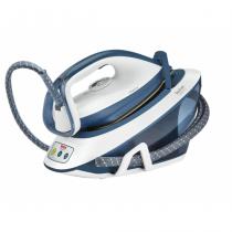 Tefal Liberty SV7030 Dampfbügelstation 2200 W 1,5 l Keramik-Bügelsohle Blau, Weiß