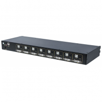 Intellinet 507912 Tastatur/Video/Maus (KVM)-Switch Schwarz