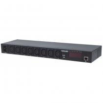 Intellinet 163682 Stromverteilereinheit (PDU) Schwarz 8 AC-Ausgänge