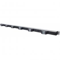 Intellinet 163668 Stromverteilereinheit (PDU) 36U Schwarz, Silber 12 AC-Ausgänge