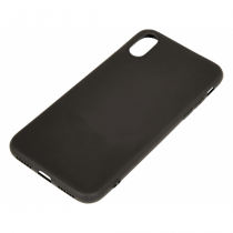 Sandberg Cover iPhone X/XS soft Black Handy-Schutzhülle