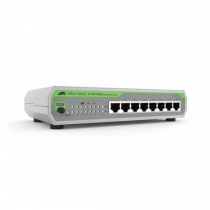 Allied Telesis AT-FS710/8E-60 Unmanaged Fast Ethernet (10/100) Grau Power over Ethernet (PoE)
