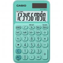 Casio SL-310UC-GN Taschenrechner Tasche Einfacher Taschenrechner Grün